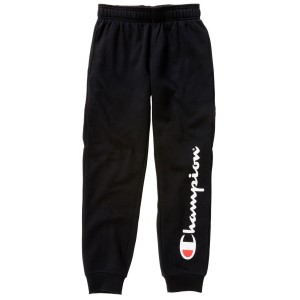 Champion Script Kids Boys Casual Cuff Pants