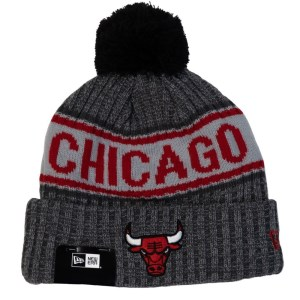 New Era Chicago Bulls Knit Medium Basketball Beanie