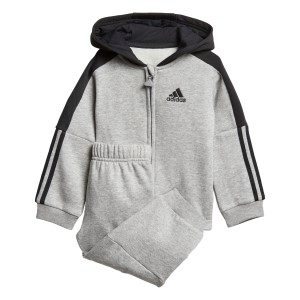Adidas Logo Hooded Fleece Infant Jogger Set