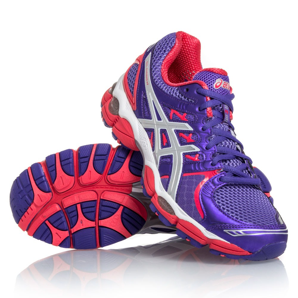 asics gel nimbus pink and purple