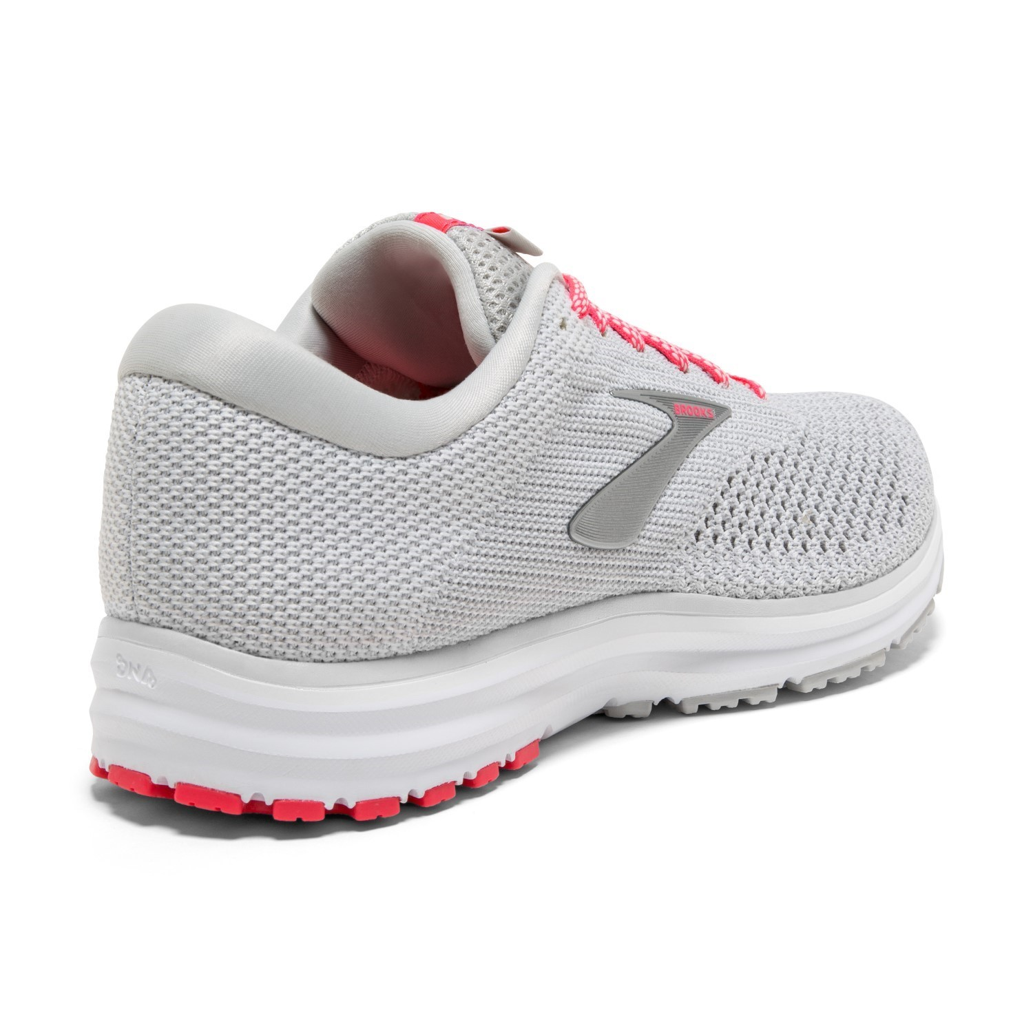 c042e439fc420 Brooks Revel 2 - Womens Running Shoes - Grey White Pink
