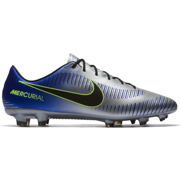 Nike Mercurial Veloce III Neymar Jr FG - Mens Football Boots - Racer Blue/Black/Chrome/Volt