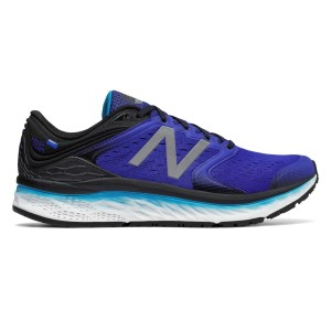 New Balance Fresh Foam 1080v8 - Mens Running Shoes - Pacific/Black/Maldives Blue