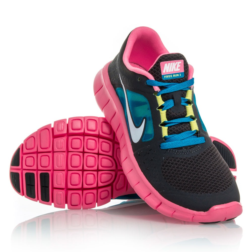 nike blue pink free expression