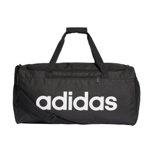 Adidas Linear Core Medium Training Duffel Bag - Black/White