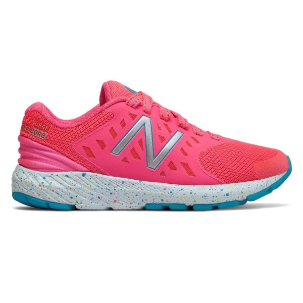 New Balance FuelCore Urge v2 - Kids Girls Running Shoes - Pink Zing/Blue