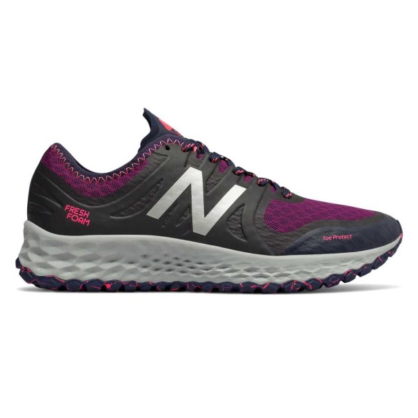 New Balance Fresh Foam Kaymin - Womens Trail Running Shoes - Magenta/Purple