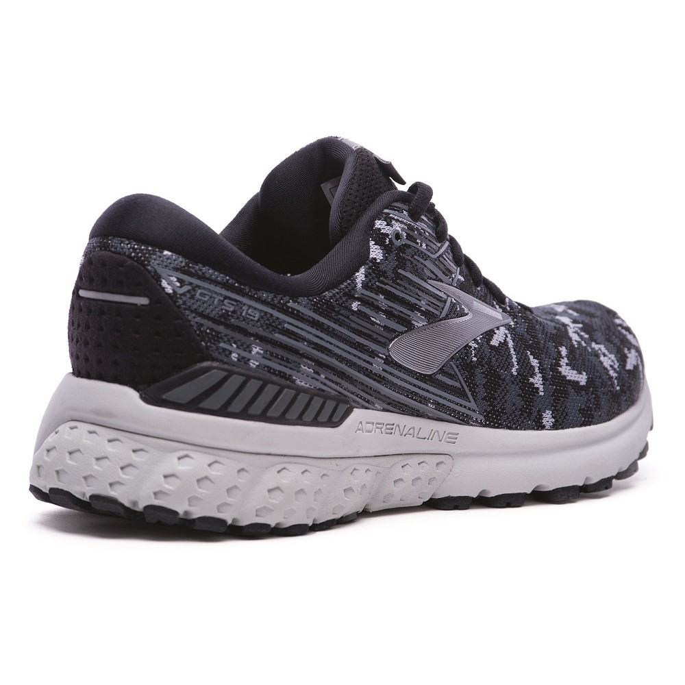 huge discount 20dee 29965 Brooks Adrenaline GTS 19 LE Camo Pack - Mens Running Shoes - Black Grey