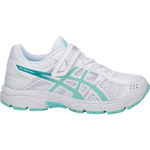 Asics Pre Contend 4 PS - Kids Girls Running Shoes