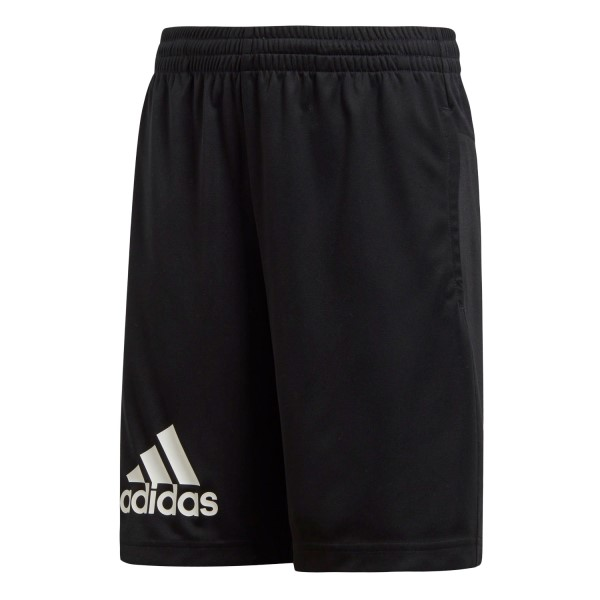 Adidas Gear Up Kids Boys Training Knit Shorts - Black/White