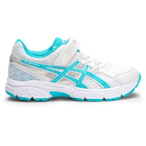 Asics Pre Contend 3 PS - Kids Girls Running Shoes