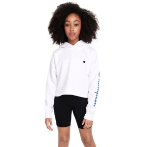 Champion Sporty Crop Kids Hoodie