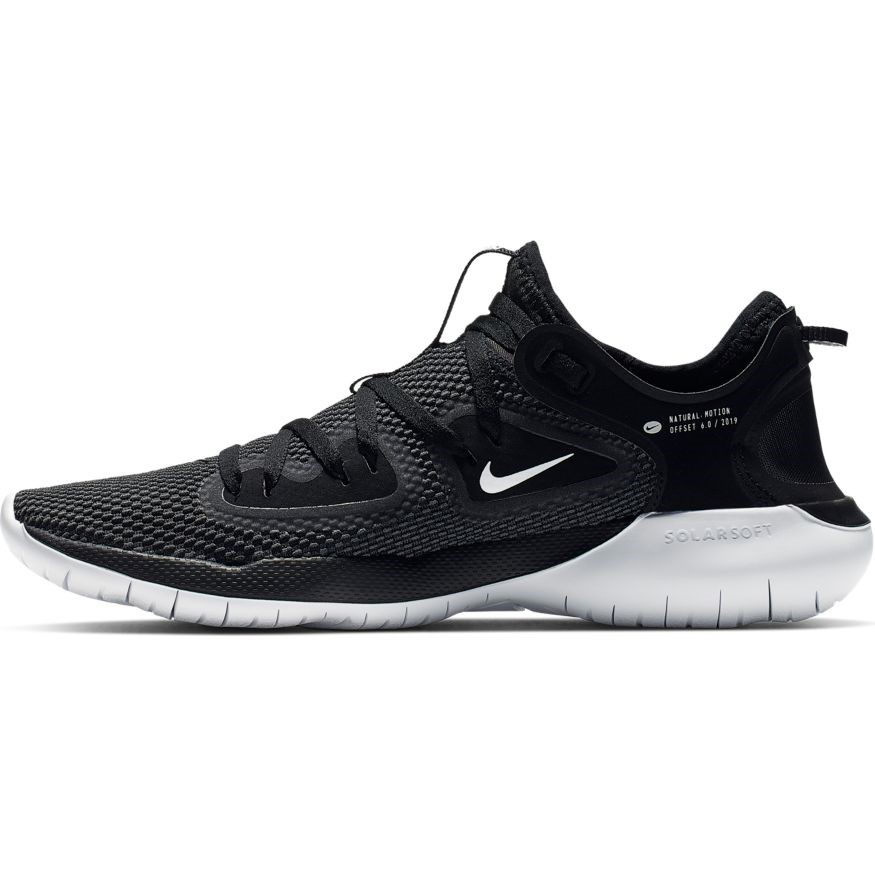 newest e620f 74dfe Nike Flex RN 2019 - Womens Running Shoes - Black White Anthracite