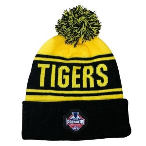 Burley Sekem Richmond Tigers 2019 AFL Premiership Beanie