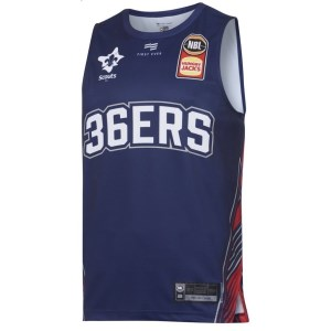 First Ever Adelaide 36ers Home 2019/20 Mens Basketball Jersey