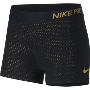 Nike Pro 3 Inch Metallic Dot Womens Training Short
