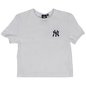 Majestic Athletic New York Yankees Ula Rib Womens Baseball T-Shirt
