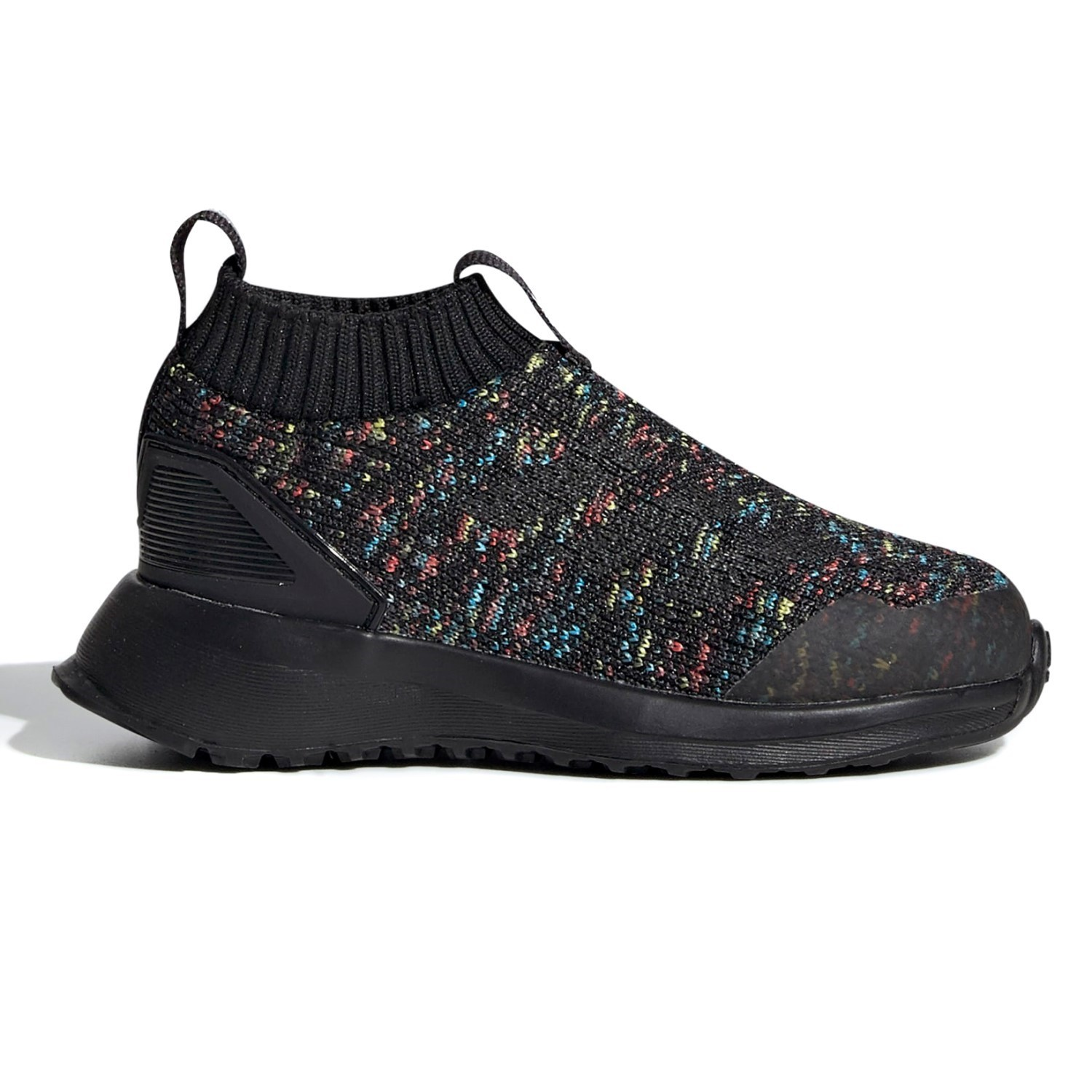separation shoes 2fc78 b3a75 Adidas RapidaRun Laceless - Toddler Boys Running Shoes - Black Multi
