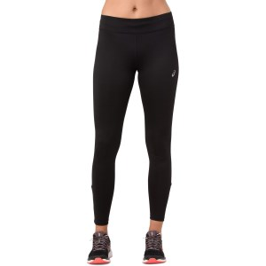 Asics Silver Womens Full Length Running Tights