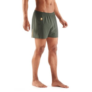 Skins Activewear Network 4 Inch Mens Running Shorts