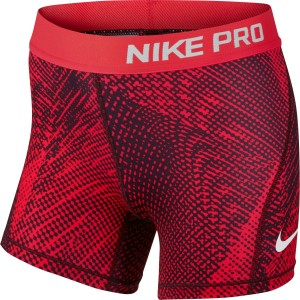 Nike Pro All Over Print Kids Girls Training Shorts
