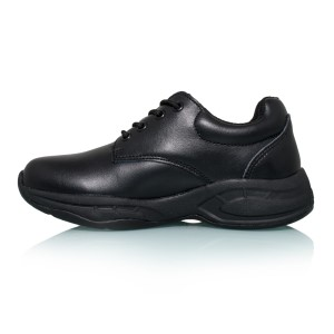 Sfida Alex Junior - Kids Leather School Shoes - Black