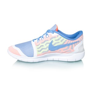 buy popular b361f 21476 Nike Free 5.0 GS (2015) - Kids Girls Running Shoes