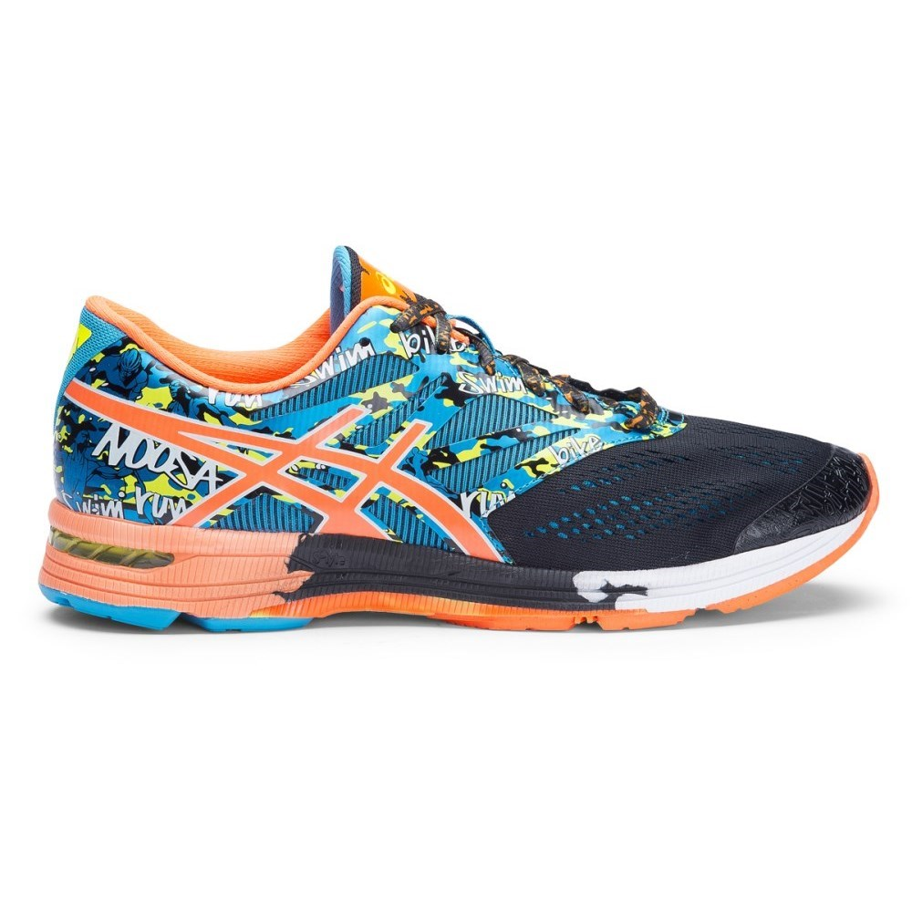promo code 81163 1f8e7 Asics Gel Noosa Tri 10 - Mens Running Shoes - Black Flash Orange Flash