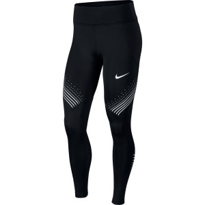 Nike Fast Graphic Mid-Rise Womens Running Tights