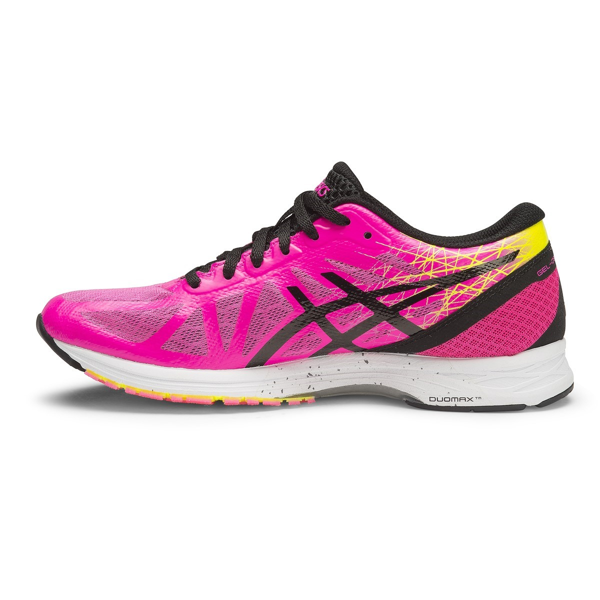 fdacb1ebfb02 Asics Gel DS Racer 11 - Womens Running Shoes - Hot Pink Black Flash ...