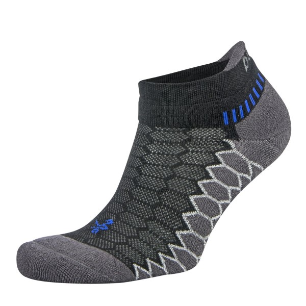Balega Silver No Show Running Socks - Black/Carbon/Navy