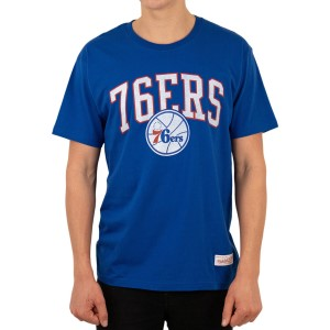 Mitchell & Ness Philadelphia 76ers Hat Hook Mens Basketball T-Shirt