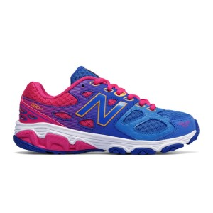 New Balance 680v3 - Kids Girls Running Shoes