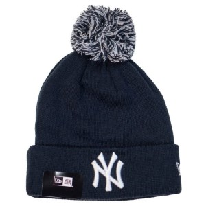 New Era New York Yankees Knit Pom Baseball Beanie