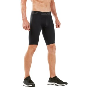 2XU Mens Accelerate Compression Shorts