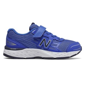 New Balance 680v5 Velcro - Kids Boys Running Shoes