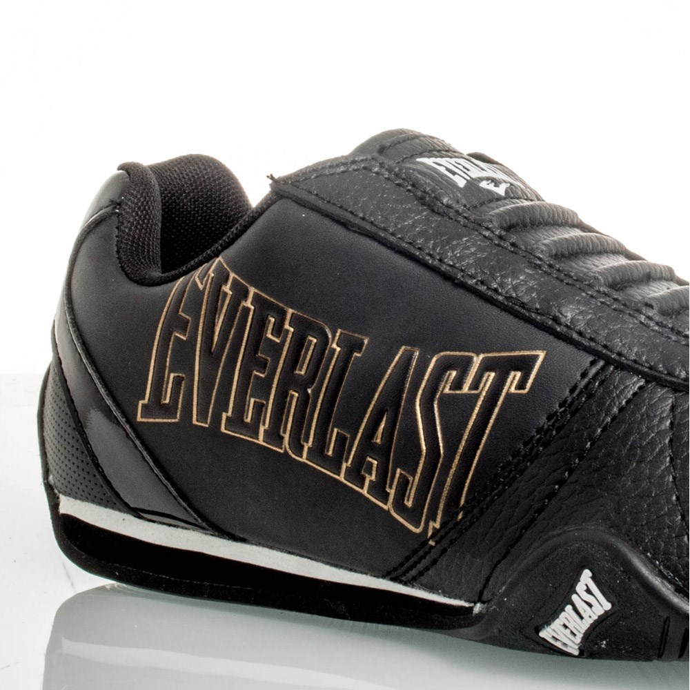 everlast tiger fighter boys casual shoes black