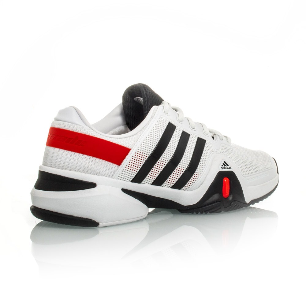 get cheap d6541 3fe65 ... cheap adidas adipower barricade 8 mens tennis shoes white black red  9b188 56f52
