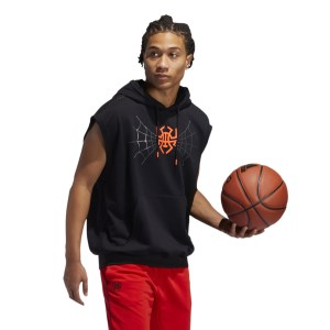 Adidas D.O.N. Issue 2 Pullover Mens Basketball Sleeveless Hoodie