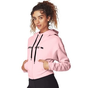 Running Bare Most Wanted Womens Hoodie