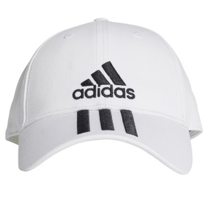 Adidas 6 Panel 3-Stripes Classic Cotton Running Cap