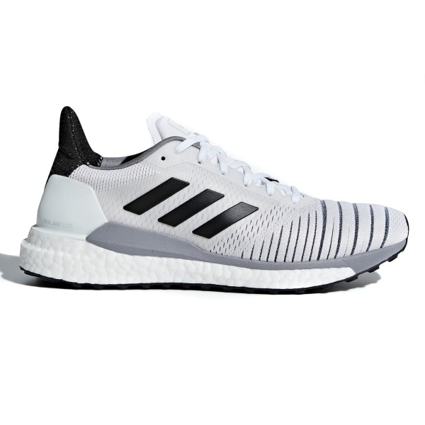 Adidas Solar Glide - Womens Running Shoes - Footwear White/Core Black/Grey