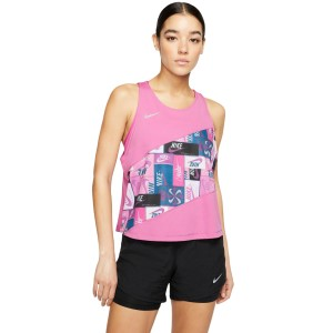 Nike Icon Clash Womens Running Tank Top