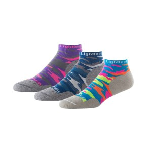 Lightfeet Warrior Mini Crew - Unisex Running Socks