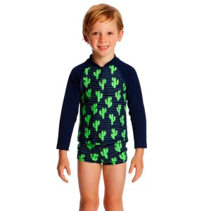 Funky Trunks Toddler Boys Zippy Rash Vest