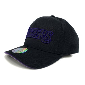 Mitchell & Ness NBA Los Angeles Lakers Team Pop Snapback Basketball Cap
