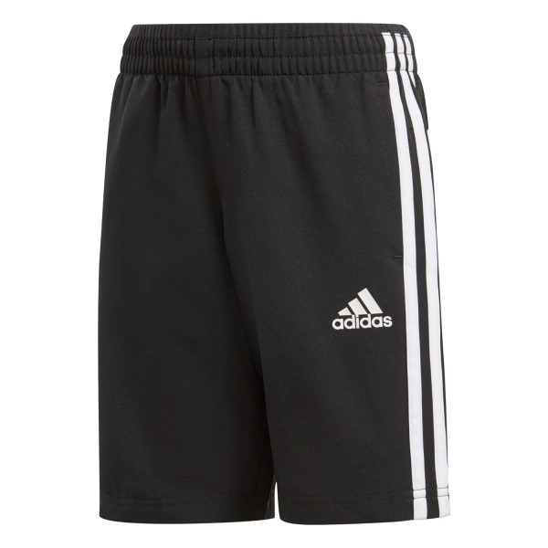 Adidas Woven Kids Boys Training Long Shorts - Black