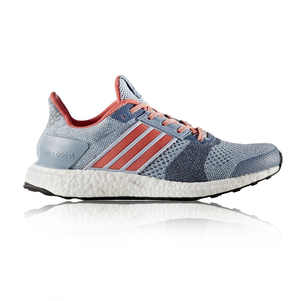 Adidas Ultra Boost ST - Womens Running Shoes - Easy Blue