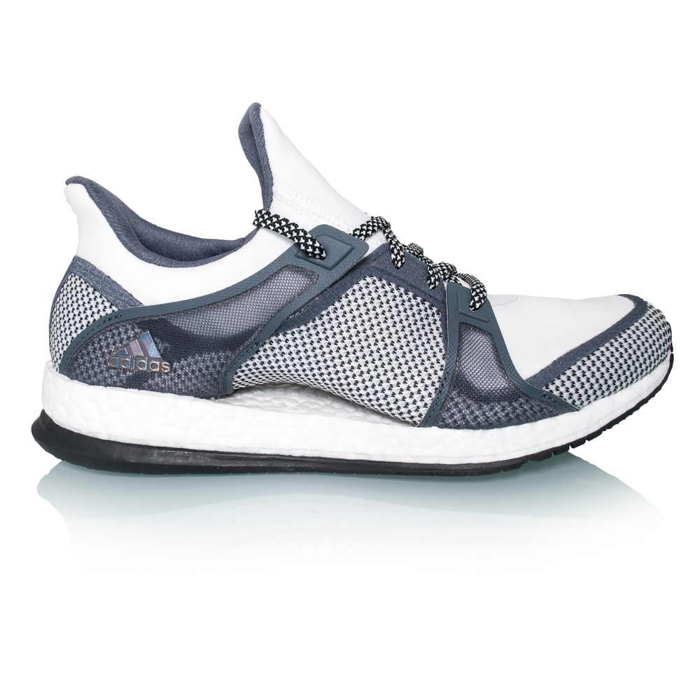 on sale babc9 cf7f4 ... discount adidas pure boost x tr womens training shoes white black onyx  c1645 0383e