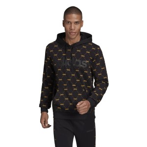 Adidas Linear Graphic Mens Hoodie